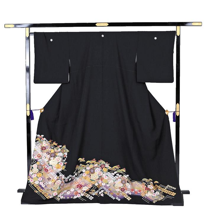 大きいサイズ 黒留袖 No.CA-0217-MOサイズ_03