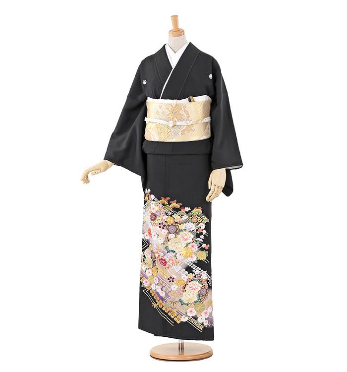 大きいサイズ 黒留袖 No.CA-0217-MOサイズ