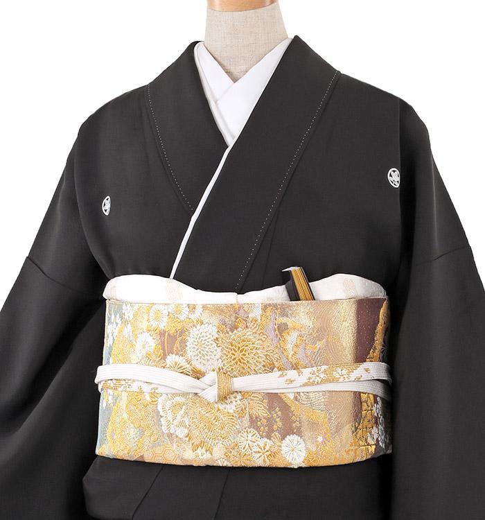 大きいサイズ 黒留袖 No.CA-0219-MOサイズ_01