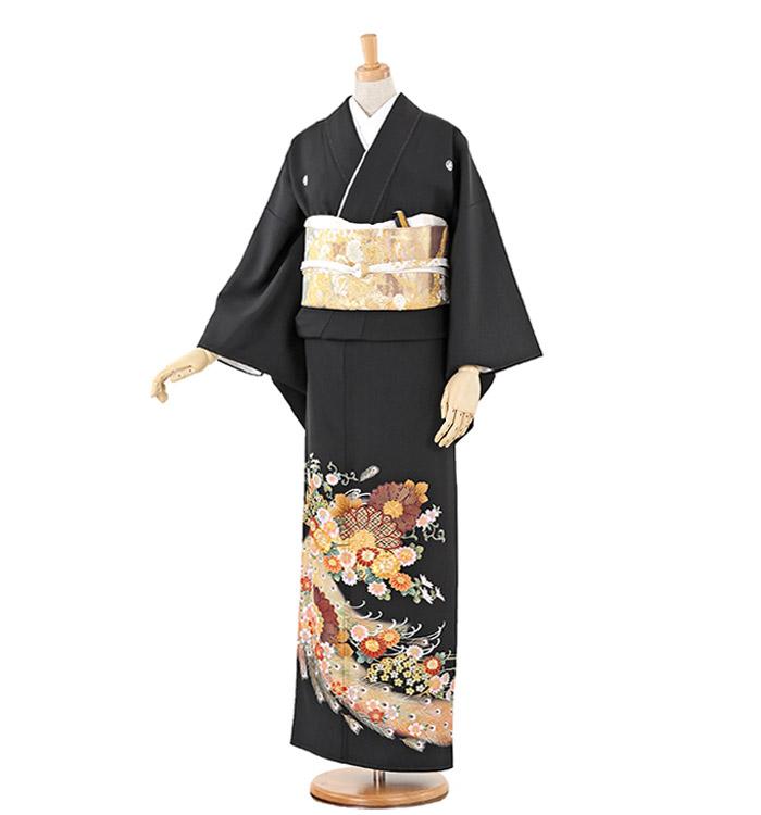 大きいサイズ 黒留袖 No.CA-0219-MOサイズ