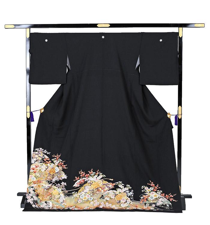トールサイズ 黒留袖 No.CA-0220-LLサイズ_03