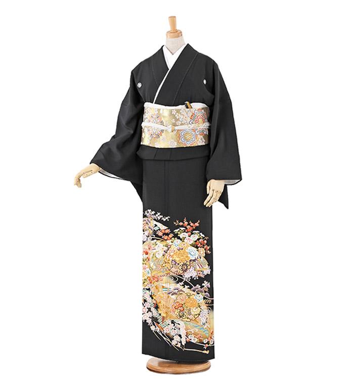トールサイズ 黒留袖 No.CA-0220-LLサイズ