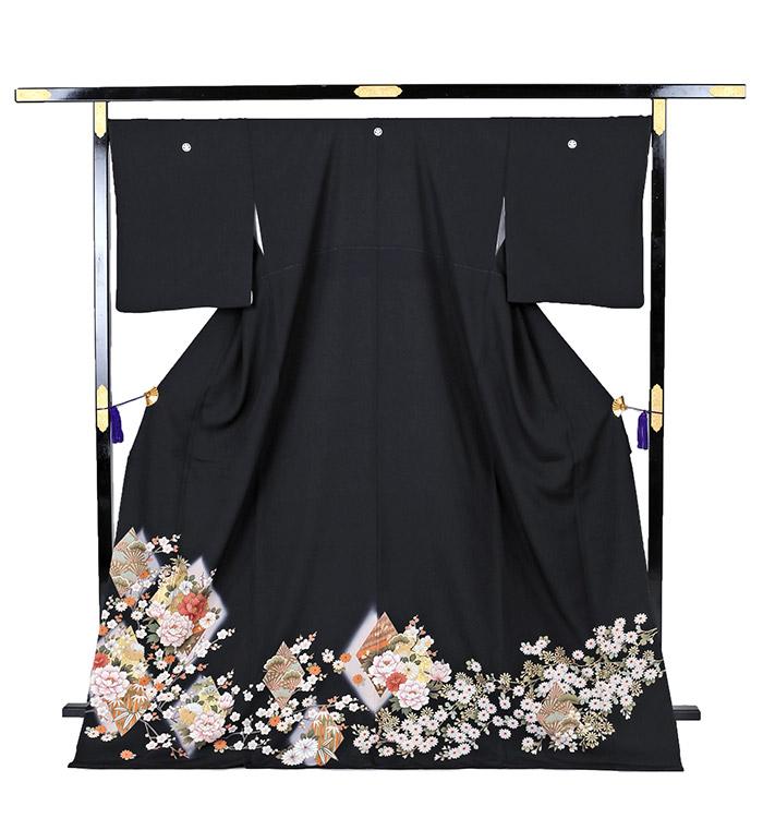 大きいサイズ 黒留袖 No.CA-0221-LOサイズ_03
