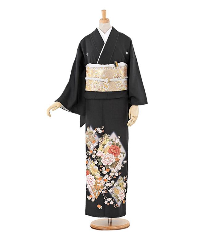大きいサイズ 黒留袖 No.CA-0221-LOサイズ