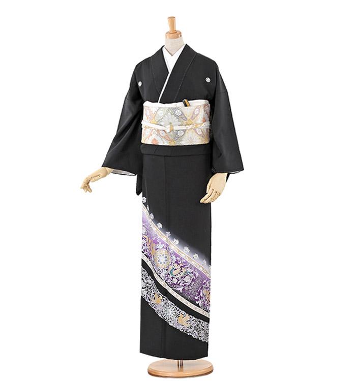 黒留袖 No.CA-0222-Lサイズ