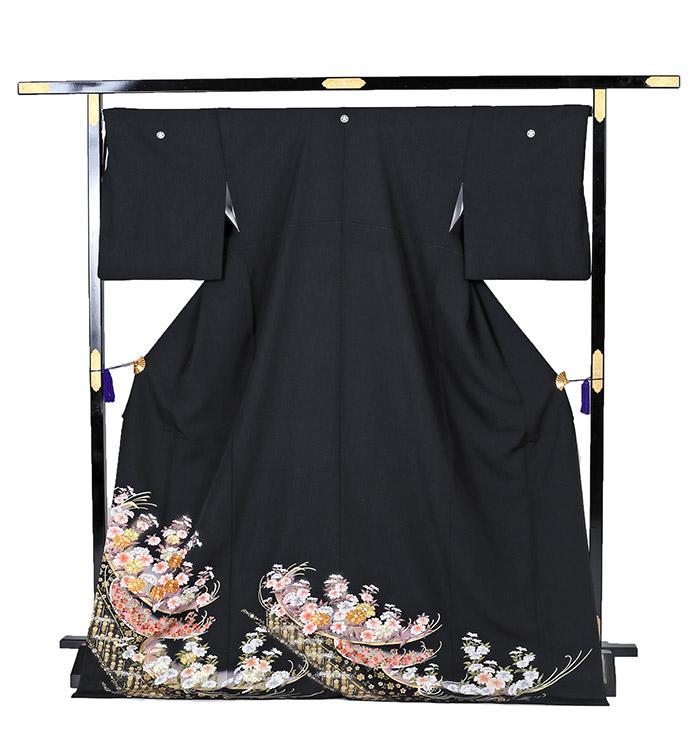 トールサイズ 黒留袖 No.CA-0224-LLサイズ_03