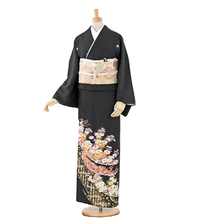 トールサイズ 黒留袖 No.CA-0224-LLサイズ