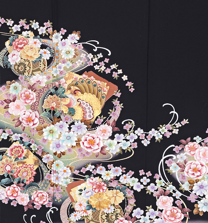 トールサイズ 黒留袖 No.CA-0225-LLサイズ_05