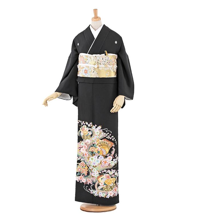 トールサイズ 黒留袖 No.CA-0225-LLサイズ