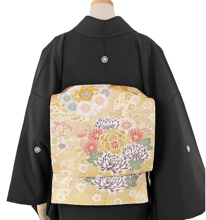 大きいサイズ 黒留袖 No.CA-0227-MOサイズ_02