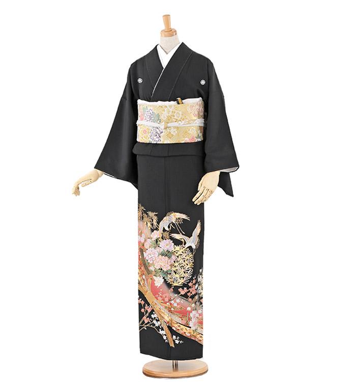 大きいサイズ 黒留袖 No.CA-0227-MOサイズ