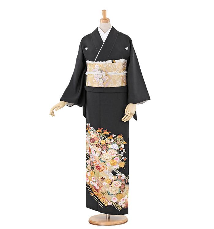 大きいサイズ 黒留袖 No.CA-0229-MOサイズ