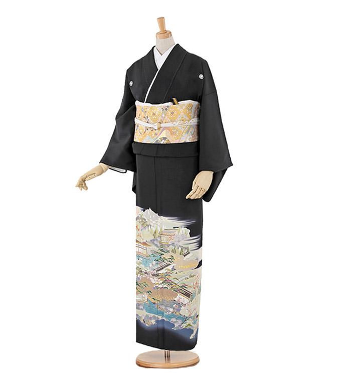 大きいサイズ 黒留袖 No.CA-0231-MOサイズ
