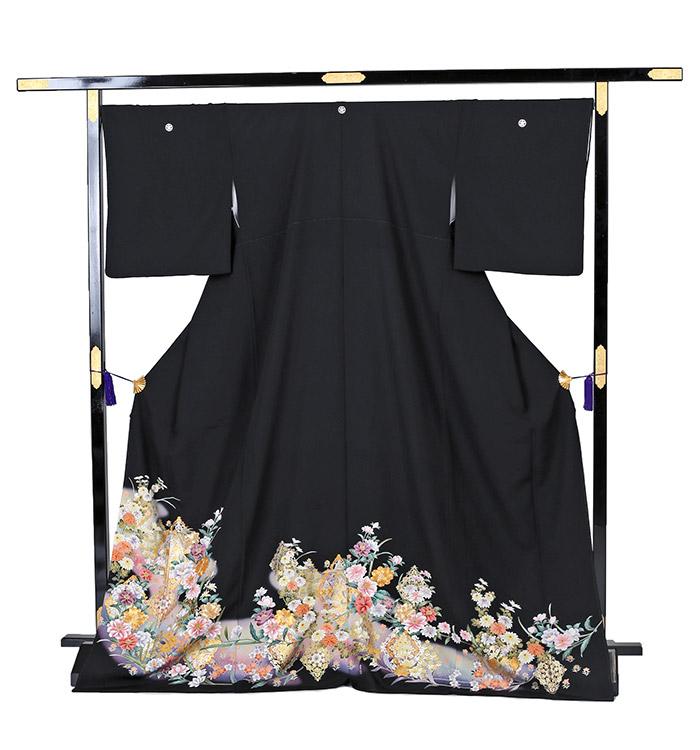 大きいサイズ 黒留袖 No.CA-0233-LOサイズ_03