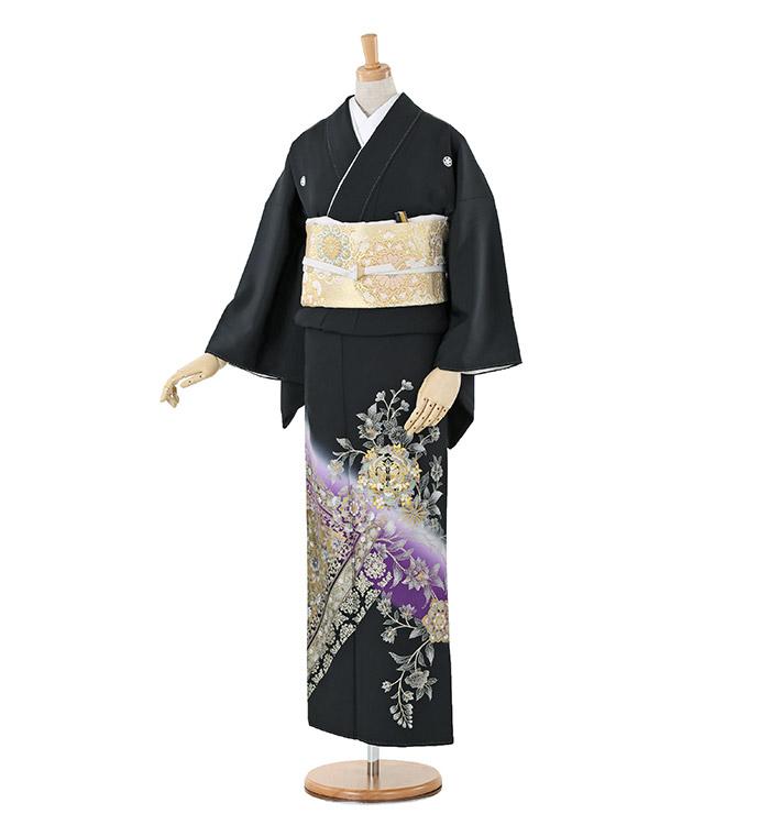 黒留袖 No.CA-0236-Lサイズ