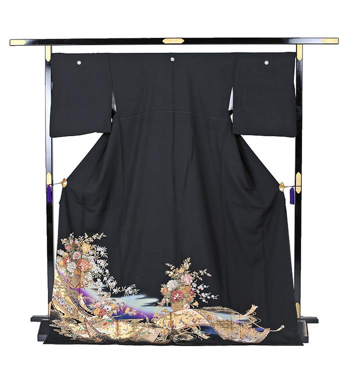 トールサイズ 黒留袖 No.CA-0238-LLサイズ_03