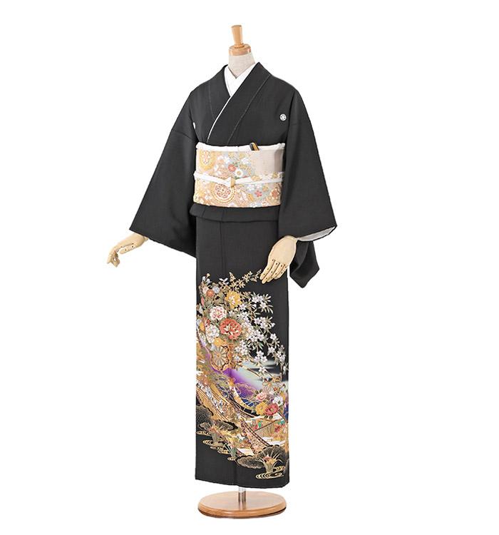 トールサイズ 黒留袖 No.CA-0238-LLサイズ