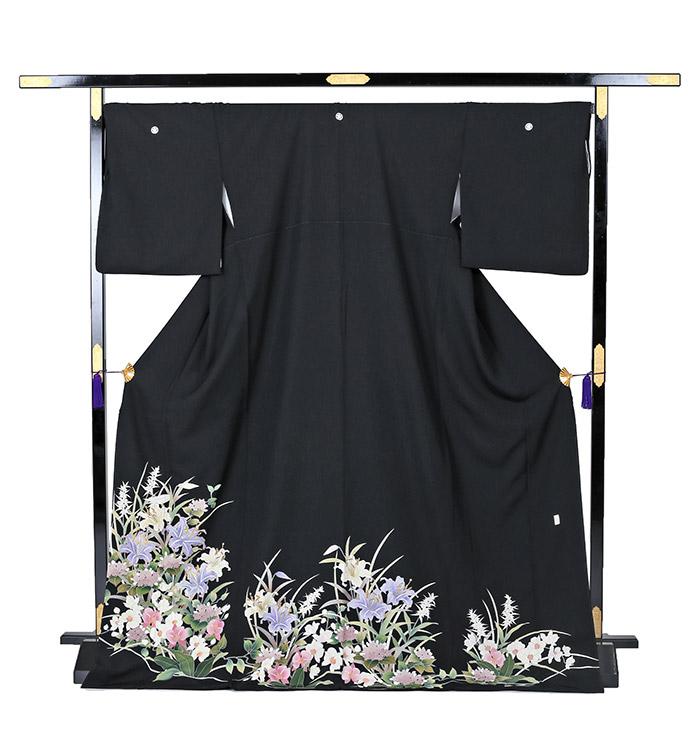 トールサイズ 黒留袖 No.CA-0241-LLサイズ_03