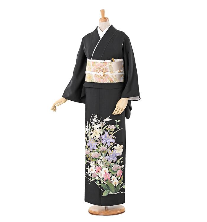 トールサイズ 黒留袖 No.CA-0241-LLサイズ