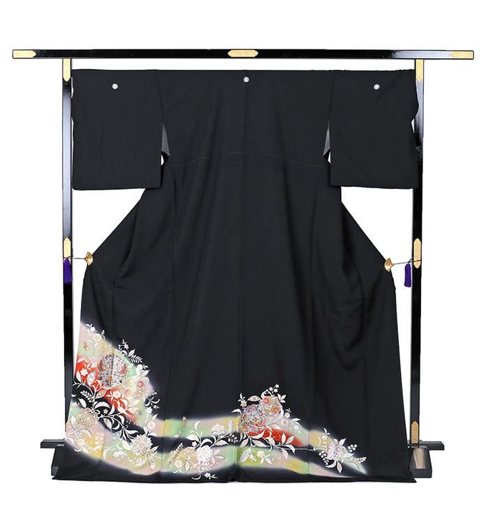 トールサイズ 黒留袖 No.CA-0243-LLサイズ_03