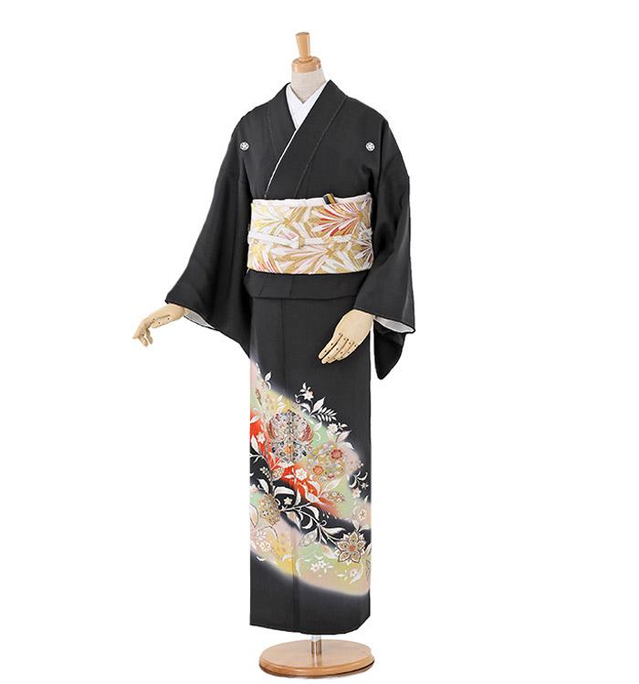 トールサイズ 黒留袖 No.CA-0243-LLサイズ