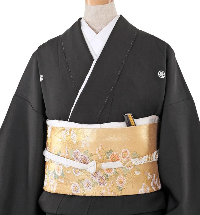 大きいサイズ 黒留袖 No.CA-0246-LOサイズ_01