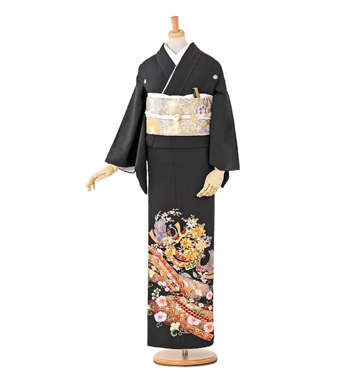 大きいサイズ 黒留袖 No.CA-0249-MOサイズ