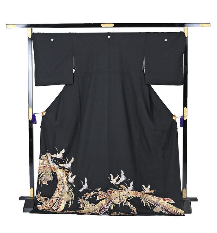 トールサイズ 黒留袖 No.CA-0252-LLサイズ_03