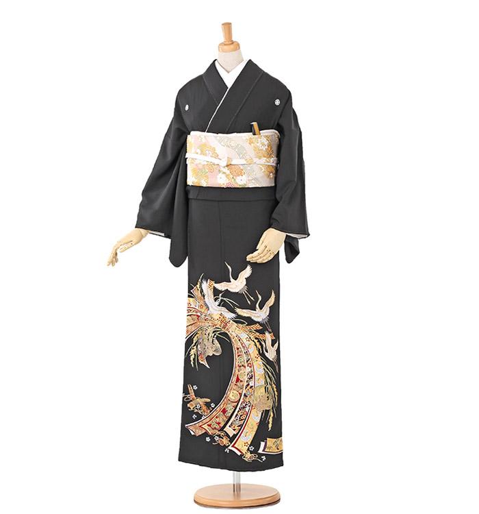 トールサイズ 黒留袖 No.CA-0252-LLサイズ