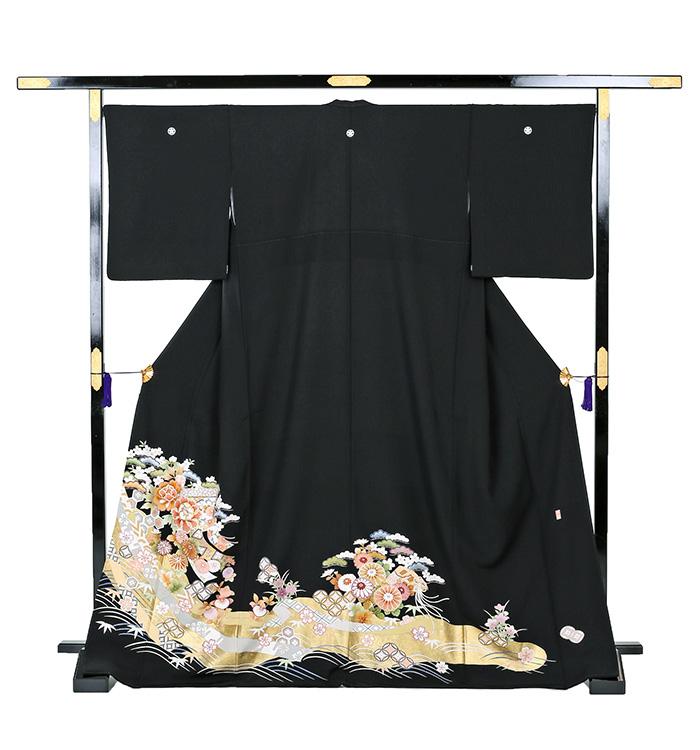 京友禅 大きいサイズ 黒留袖 No.CA-0259-MOサイズ_03