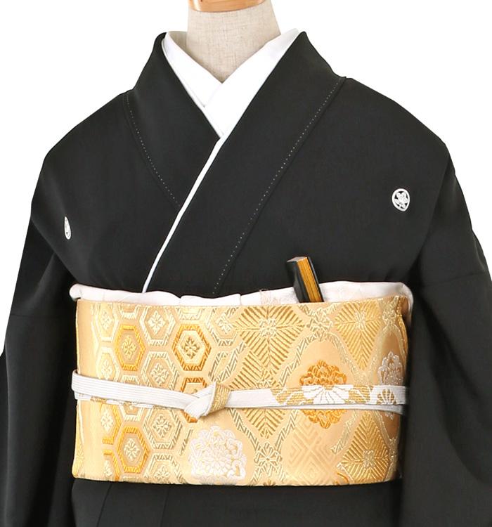 京友禅 大きいサイズ 黒留袖 No.CA-0259-MOサイズ_01