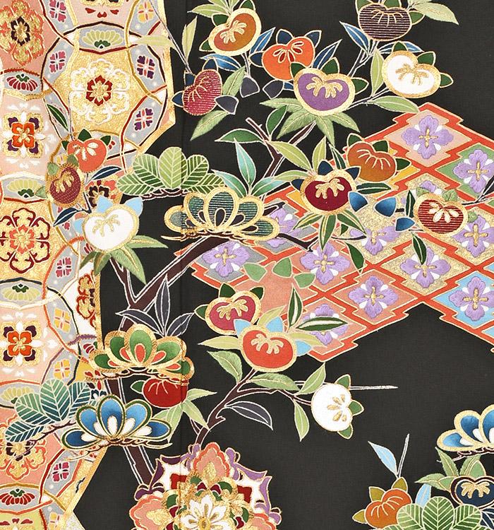 刺繍 黒留袖 No.CA-0261-Mサイズ_05
