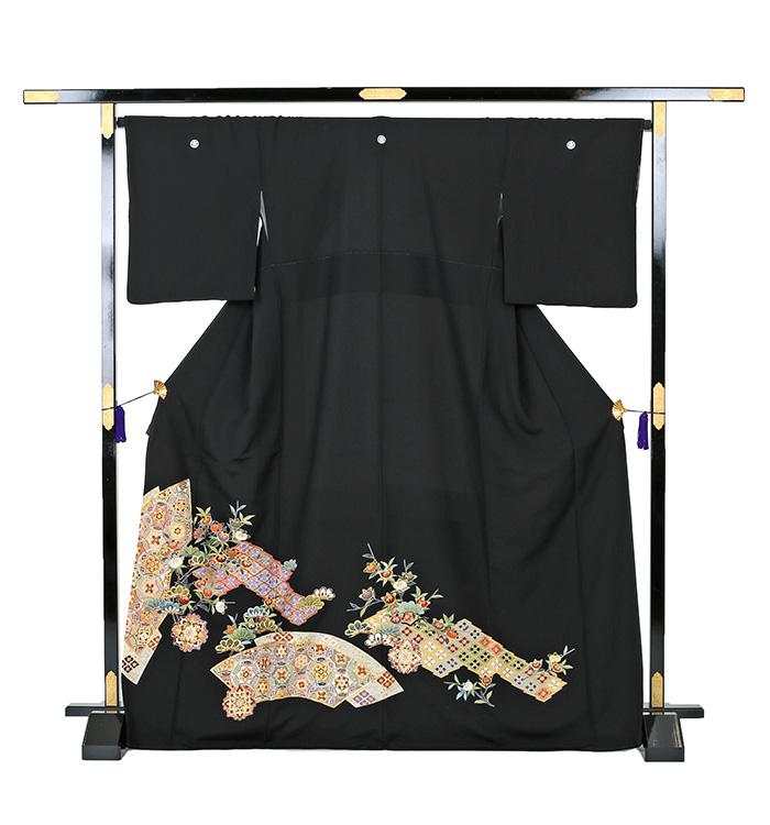 刺繍 黒留袖 No.CA-0261-Mサイズ_03