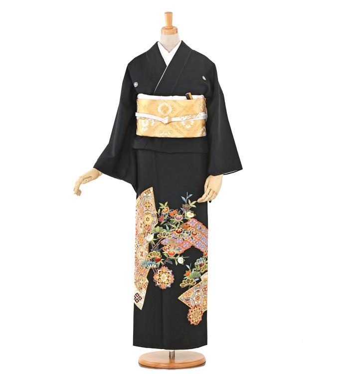 刺繍 黒留袖 No.CA-0261-M