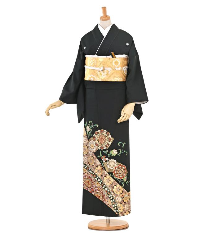大きいサイズ 黒留袖 No.CA-0266-MOサイズ