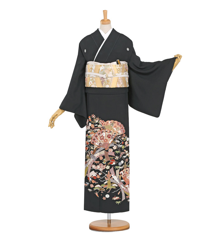 黒留袖 No.CA-0353-Lサイズ