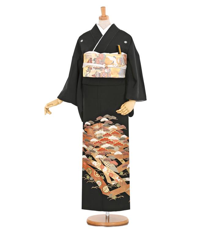 黒留袖 No.CA-0381-Sサイズ