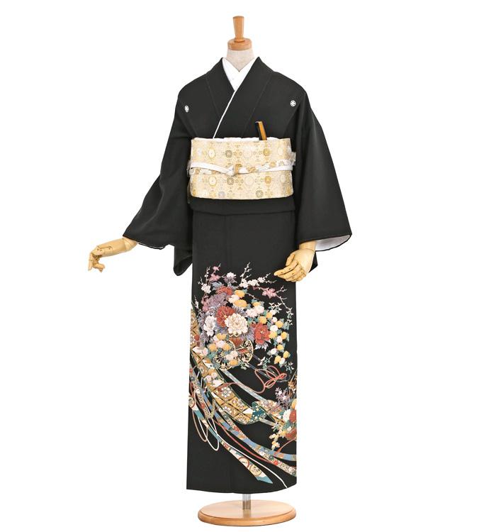 黒留袖 No.CA-0404-Lサイズ