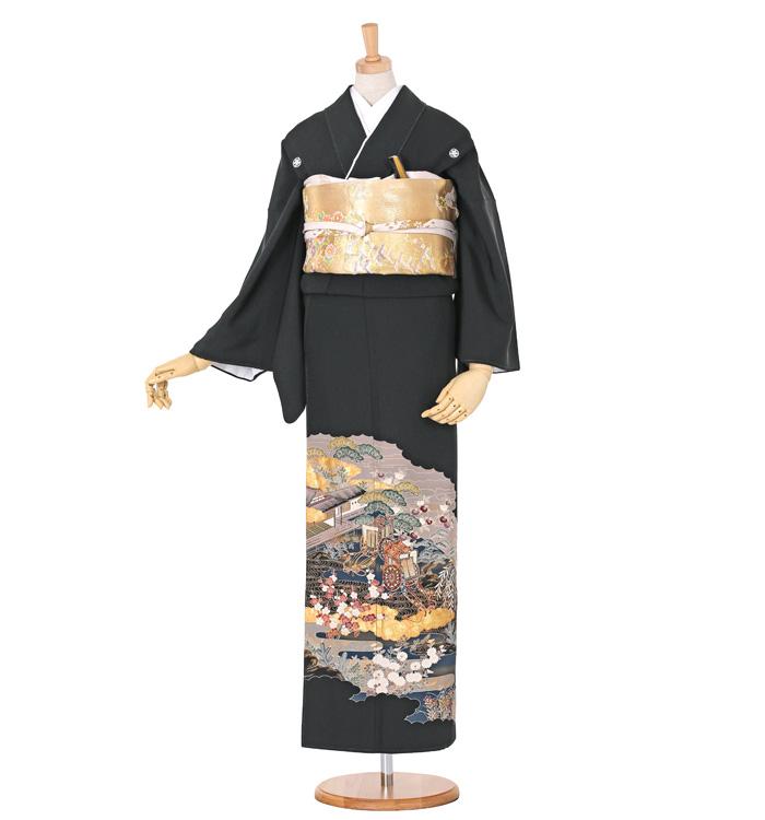黒留袖 No.CA-0551-Mサイズ