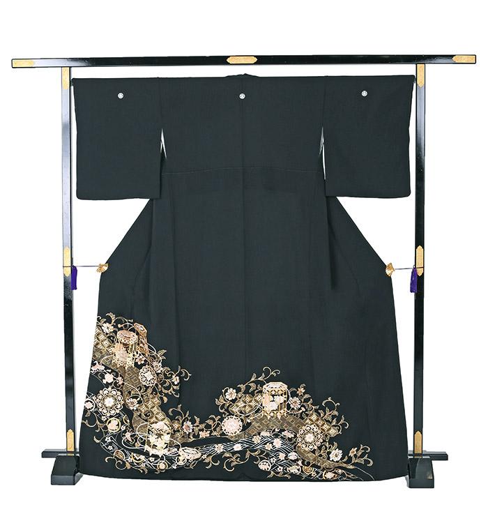 総刺繍 黒留袖 No.CA-0570-M_03