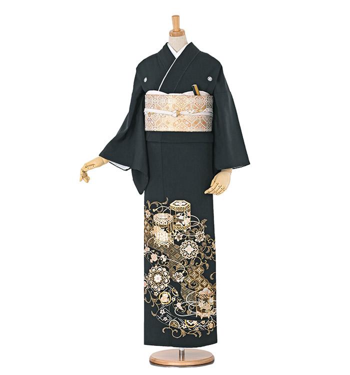 総刺繍 黒留袖 No.CA-0570-Mサイズ