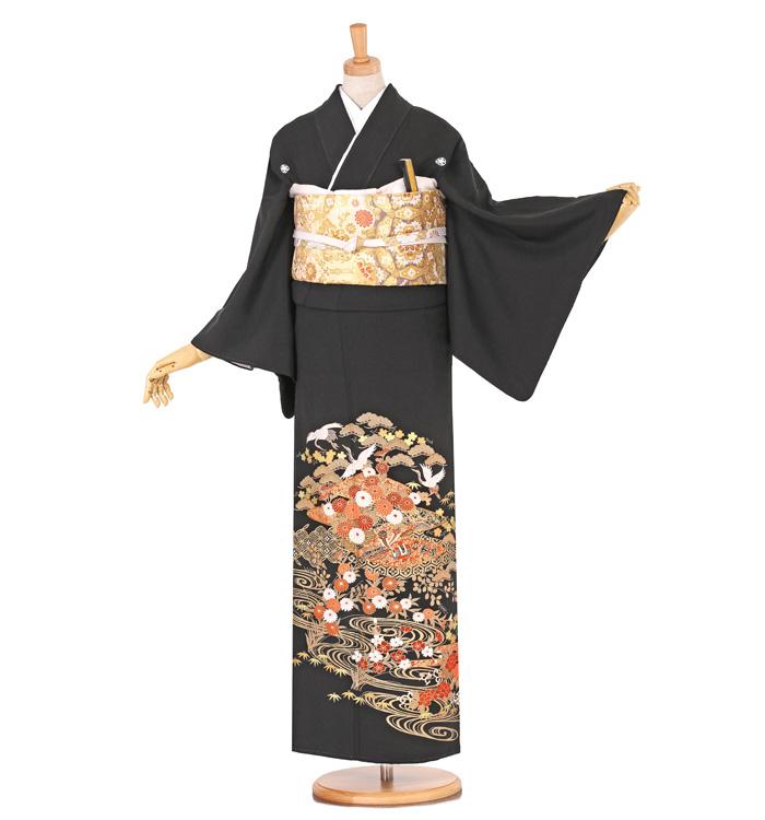 黒留袖 No.CA-0615-Sサイズ