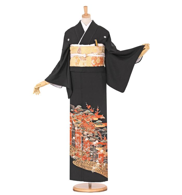 黒留袖 No.CA-0616-Mサイズ