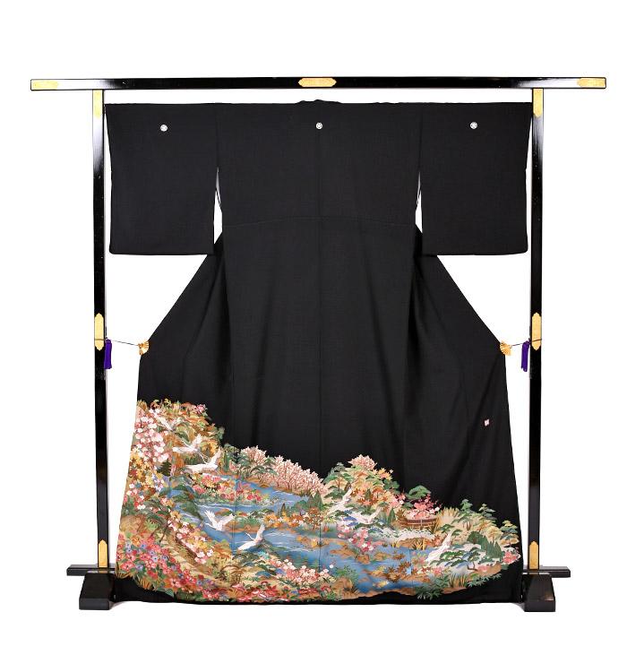 刺繍 黒留袖 No.CA-0742-M_03