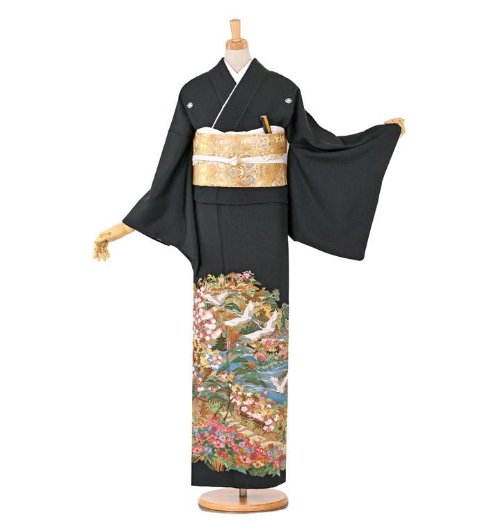刺繍 黒留袖 No.CA-0742-M