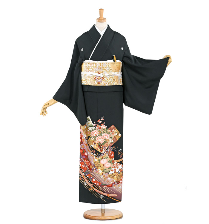 大きいサイズ 黒留袖 No.CA-0820-MO