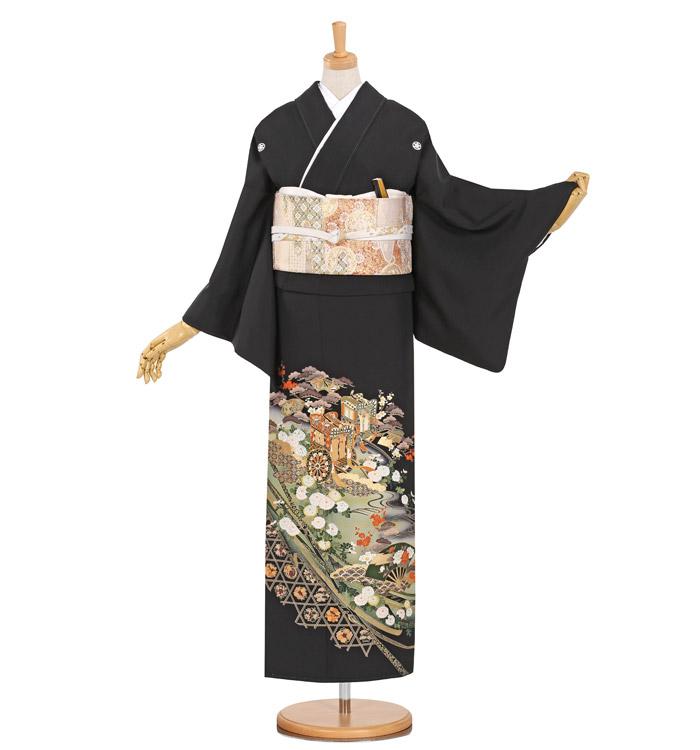 黒留袖 No.CA-0887-Sサイズ