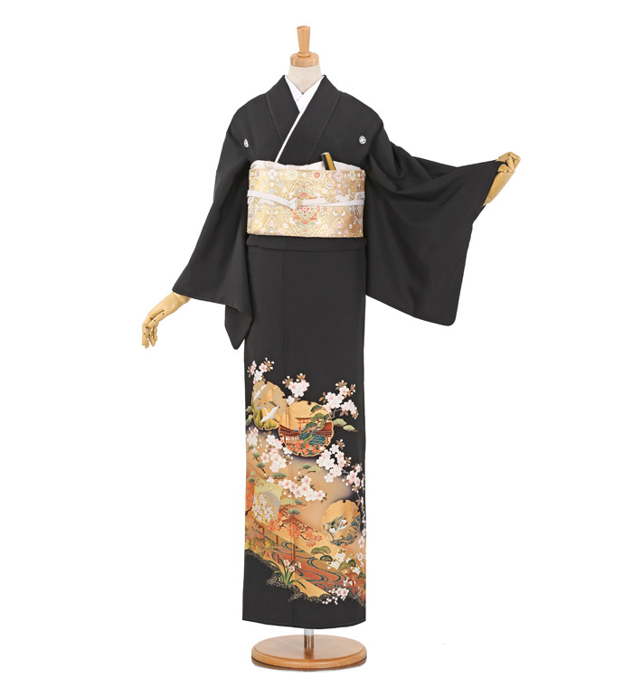 黒留袖 No.CA-0890-Mサイズ