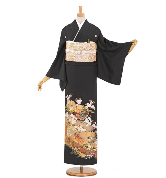 黒留袖 No.CA-0896-Lサイズ