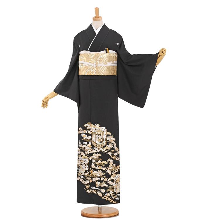 総刺繍 黒留袖 No.CA-0910-M